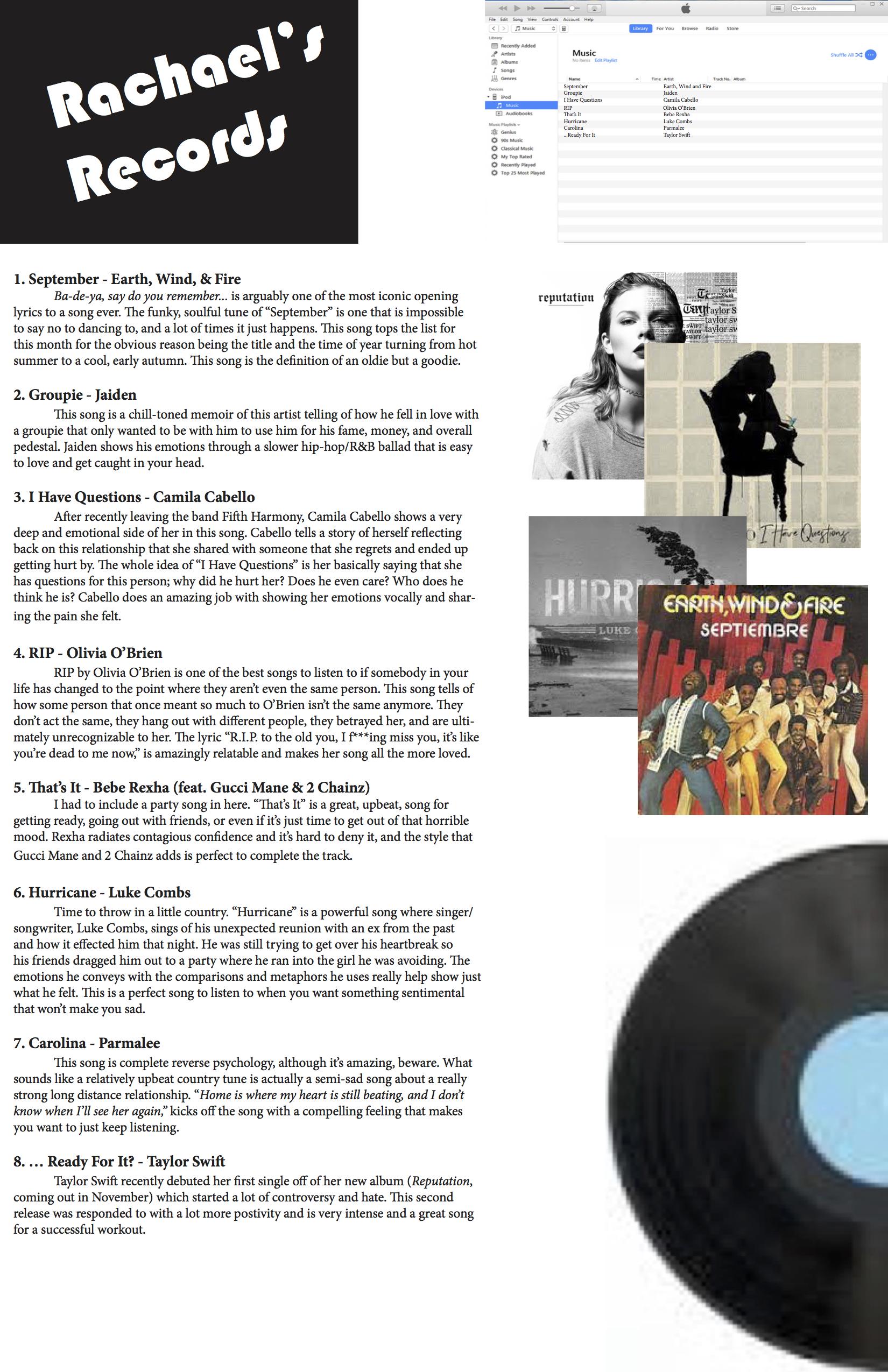 Rachael's Records copy